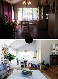 Living Room Makeovers Before And After Pictures by Before U0026 After A Modern Bohemian Fixer Upper In Southern