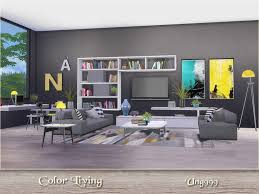 A Modern Colorful Living Room Decor Items In Preview Found Under Color