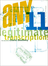 100 Charles Gwathmey ANY 11 Legitimate Transcriptions The Early Work Of