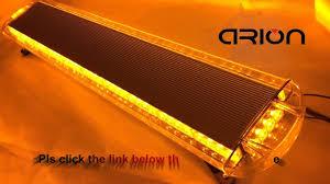 100 Light Bars For Tow Trucks 47 88 LED LIGHT BAR EMERGENCY BEACON WARN TOW TRUCK PLOW RESPONSE
