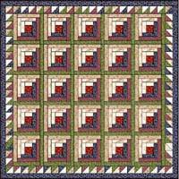 Log cabin quilt patterns very modish and stylish patterns Home