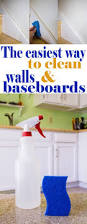 Diy Drano For Bathtub by The Easiest Way To Clean Walls And Baseboards Baseboard