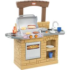Play Kitchen Sets Walmart by Little Tikes Cook U0027n Play Outdoor Bbq Grill Walmart Com
