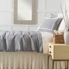100 Pure French Linen Grey Duvet Cover Superking
