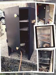 File Cabinet Smoker Plans by Vertical Smoker Diy Youtube