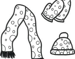Clothing Coloring Pages For Preschoolers Download Winter Clothes Best Page