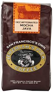 Amazon Jeremiahs Pick Coffee Mocha Java Decaf Whole Bean 10 Ounce Bags Pack Of 3 Roasted Beans Grocery Gourmet Food