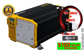 Power Inverters And GFCI Tripping | Don Rowe Power Inverters Blog Power Invters Dc To Ac Solar Panels Aims Xantrex Xpower 1000w Dual Gfci 2plug 12v Invter For Car Pure Sine Wave To 240v Convter 2018 Xuyuan 2000w 220v High Aims 12 Volt 5000 Watts Westrock Battery Ltd Shop At Lowescom Redarc 3000w Electronics Portable Your Or Truck Invters Bring Truckers The Comforts Of Home Engizer 120w Cup Walmart Canada
