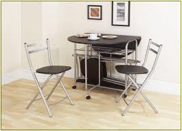 Likable Compact Table And Chairs White Folding Sets Kitchen ...