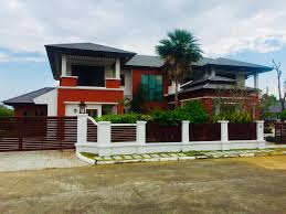 100 2 Story House With Pool Large With Private In Green Valley Thai