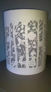 Laser Cut Lamp Shade by 94 Best Paper Cut Lamps Images On Pinterest Paper Paper Lamps