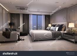 100 Modern Luxury Bedroom 3d Rendering Suite Stock Illustration