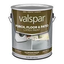Drylok Concrete Floor Paint Sds by Shop Valspar Light Gray Satin Interior Exterior Porch And Floor
