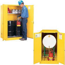 Flammable Liquid Storage Cabinet Grounding by Flammable Drum Storage Cabinets At Global Industrial
