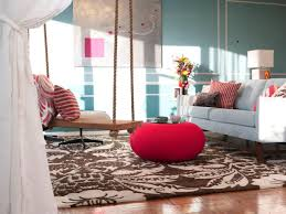 Brown And Teal Living Room by Photo Page Hgtv