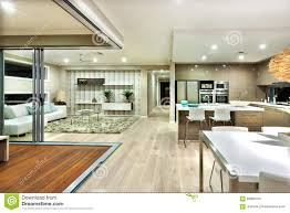 100 Modern Houses Interior The House Panorama With Kitchen And The