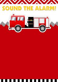 Firefighter Birthday Invitations - Card Invitation Design Online