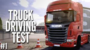 ETS2 Truck Driving License - Scania Truck Driving Simulator #1 - YouTube
