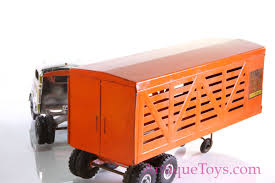 Structo-cattle-trailer-tractor-truck116 - Antique Toys For Sale Matchbox Lesney No 1 2 Mercedes Lorry Trailer 1960s Made In Road Truck 3asst City Summer Brands Products Www Dodge Cattle Cars Wiki Fandom Powered By Wikia 116th Wsteer Bruder Includes Cow Britains Farm Toys Page Scale Models Pistonheads Structo Livestock Truck Trailer C3044 Vintage Toy Farm Ranch Cattle 164 Custom Streched Tsr Intertional And Dcp Wilson Cattle Trailer Oxford Diecast Wm Armstrong Livestock Model Metal Toy Trucks Wwwtopsimagescom Amazoncom Mega Big Rig Semi 24 Childrens Channel Unboxing Playtime Toys For Fun A Dealer