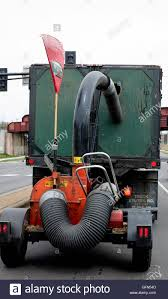 100 Leaf Vacuum Truck Rear Of Truck Pulling A Vacuum Like Leaf Grinder Engine And