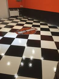 photo hockey floor tiles images harley davidson garage flooring