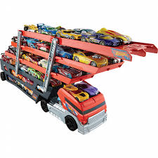 Hot Wheels Mega Hauler Truck | Shop Your Way: Online Shopping & Earn ... Hot Wheels Trackin Trucks Speed Hauler Toy Review Youtube Stunt Go Truck Mattel Employee 1999 Christmas Car 56 Ford Panel Monster Jam 124 Diecast Vehicle Assorted Big W 2016 Hualinator Tow Truck End 2172018 515 Am Mega Gotta Ckc09 Blocks Bloks Baja Bone Shaker Rad Newsletter Dairy Delivery 58mm 2012 With Giant Grave Digger Trend Legends This History Of The Walmart Exclusive Pickup Series Is A Must And