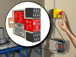 Keyence Light Curtain Wiring by Safety Relays Banner