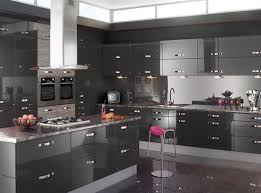White Country Kitchen Design Ideas by Mosaic Tiles For Backsplashes Light Gray Kitchen Cabinets Black