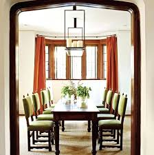 Dining Room Window Ideas Dramatic Treatments Traditional Home Valances
