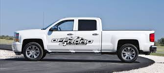 100 Chevy Decals For Trucks Car Styling For 2 X CHEVY CHEVROLET GMC OFF ROAD 4 WHEEL DRIVE
