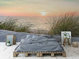 fototapete vlies strand meer ostsee schlafzimmer