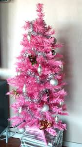 Cosmopolitan Advertisements Hosting Pink Just About Home In Christmas Tree