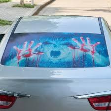 100 Back Window Decals For Trucks Wholesale 3D Transparent Car Sticker Halloween Automobile Rear