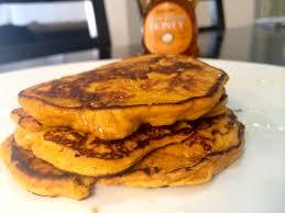 Vegan Bisquick Pumpkin Pancakes by 3 Crazy Good 3 Ingredient Pancakes Sweet Potato Pancakes