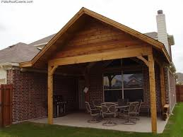 Patio Roof Design Plans