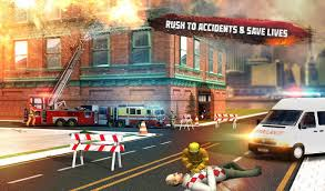 🚒 Rescue Fire Truck Simulator: 911 City Rescue For Android - APK ...