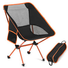 US $25.68 49% OFF|Portable Folding Chairs Camping Detachable Slacker Chair  Fishing Stool Travel Hiking Rest Seat With Carry Bag Outdoor Tool-in ...