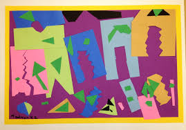 Kindergarten Matisse Paper Cut Outs