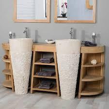 zen badezimmer eintreten aufatmen entspannen