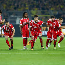 Supercup Borussia Dortmund Gegen FC Bayern München