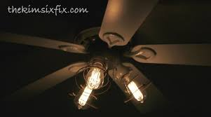 edison bulb ceiling fan vintage style bulbs add a touch of