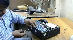Dell 2400mp Lamp Change by Dell 4210x Projector How To Changed Power Supply Youtube