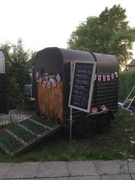 Beautifull Classic Horse Trailer Coming Conversion Catering Bar Coffee South Yorkshire