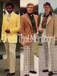 Mens Vintage Clothing Pants Of The 70s