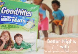 Goodnites Disposable Bed Mats by Better Nights With Target Goodnites Bed Mats Hello Lidy