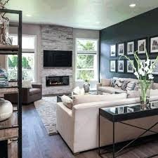 Living Room With Fireplace And Bay Window by Pre Made Fireplace Mantels Living Room Bay Window Curtain Ideas
