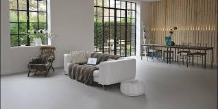 betonboden optik in der wohnzimmer naturo lübeck