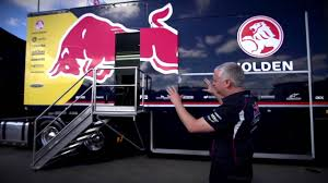 Behind The Scenes: The Red Bull Racing Australia Truck Tour - YouTube
