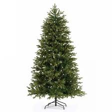 Artificial Christmas Trees Uk 6ft by 6ft Pre Lit Narvik Slim Spruce Artificial Christmas Tree From