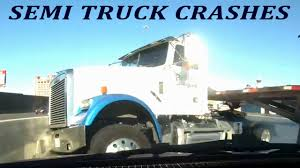 TRUCK CRASH COMPILATION | SEMI TRUCKS DRIVING FAILS | CAR CRASHES IN ...